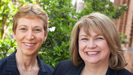 Transform founders Theresa Gale and Mary Anne Wampler