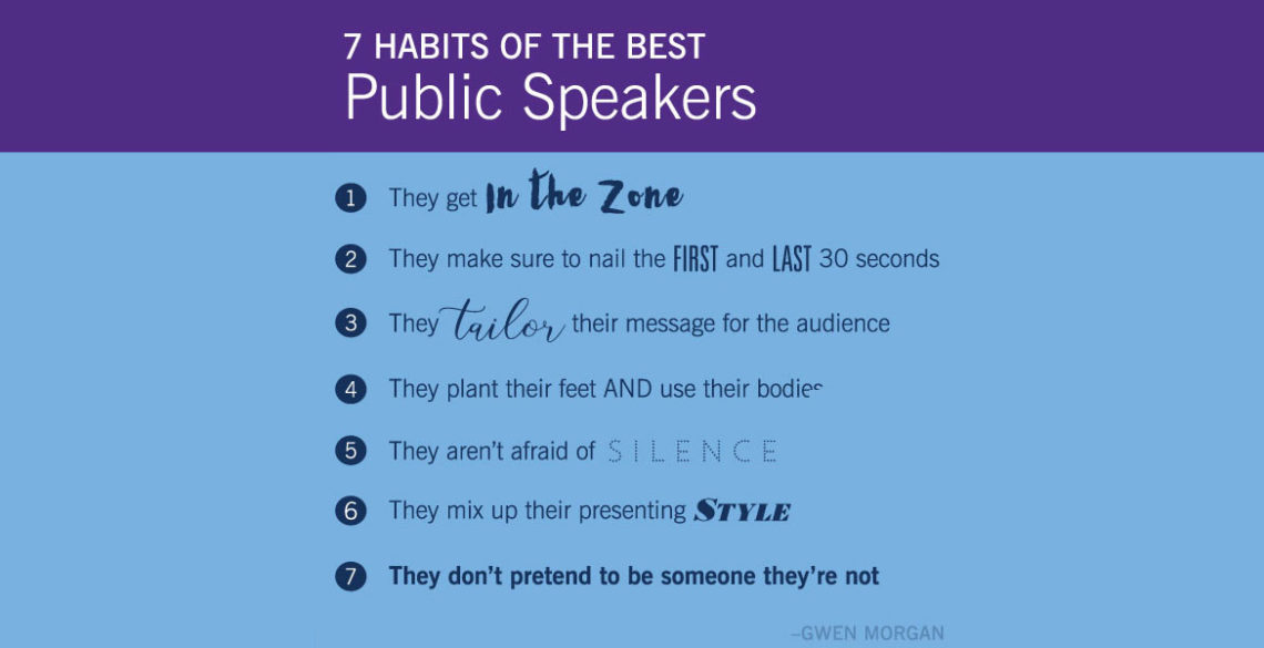 7 Habits of the Best Public Speakers