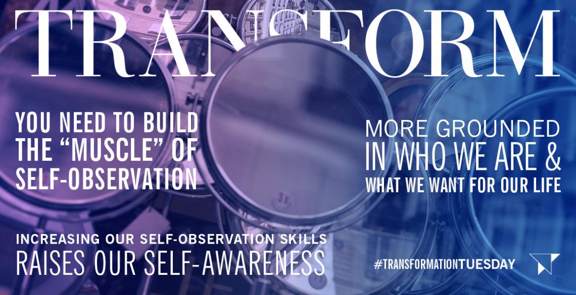 Increasing Self-Awareness through Self-Observation