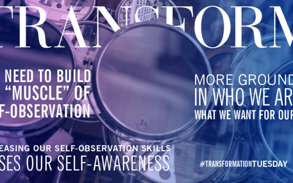 Increasing Self-Awareness through Self-Observation