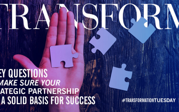 Is Entering a Strategic Partnership the Right Decision–Answer These 5 Questions to Find Out