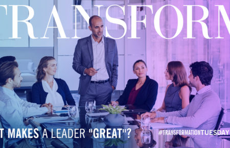 "What makes a leader ""great""?"