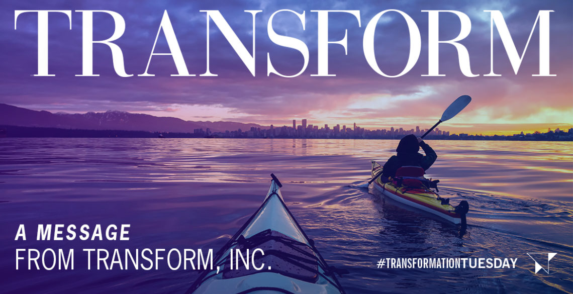 A Message from Transform, Inc.