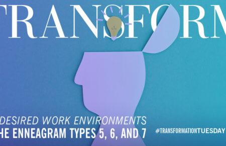 The Enneagram Desired Work Environment: Head Types
