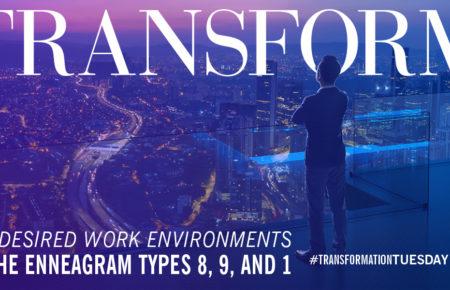 The Enneagram Desired Work Environment: Body Types