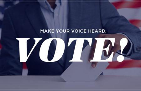 Make Your Voice Heard, Vote!